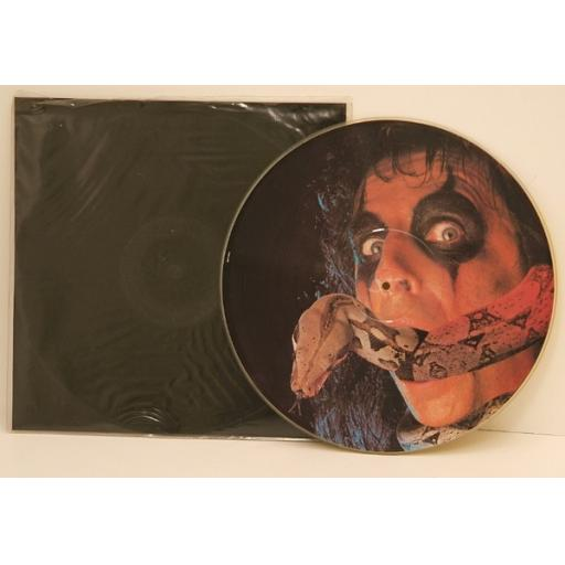 ALICE COOPER , Teenage Frankenstein. PICTURE DISC ALBUM. Top copy. Very rare....