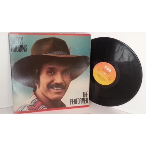 MARTY ROBBINS the perforner, S CBS 83488