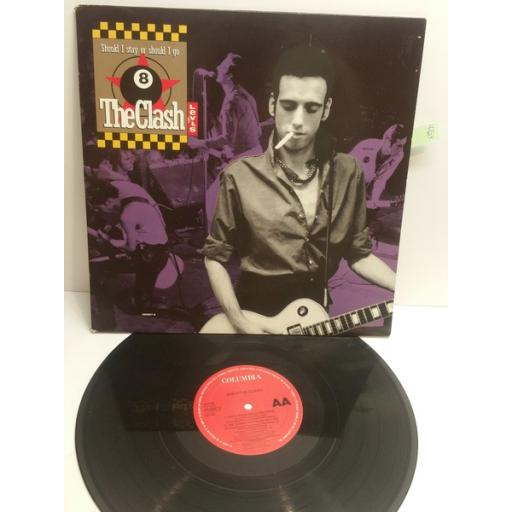 "THE CLASH should I stay or should I go BIG AUDIO DYNAMITE 11 rush 656667-6 12"" single"