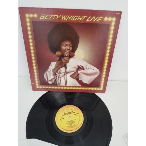 "BETTY WRIGHT, live, alston 4408, 12"" LP"