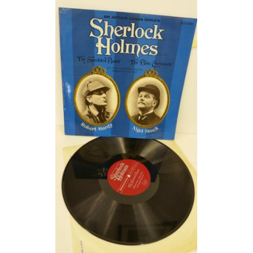 SIR ARTHUR CONAN DOYLE sherlock holmes - the speckled band - the blue carbuncle, DCO 1210