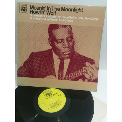 HOWLIN' WOLF moanin' in the moonlight MAL665