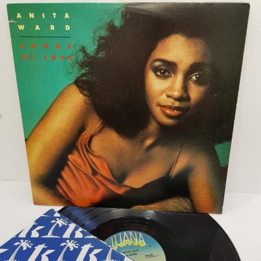 "ANITA WARD, songs of love, 200,004, 12"" LP"