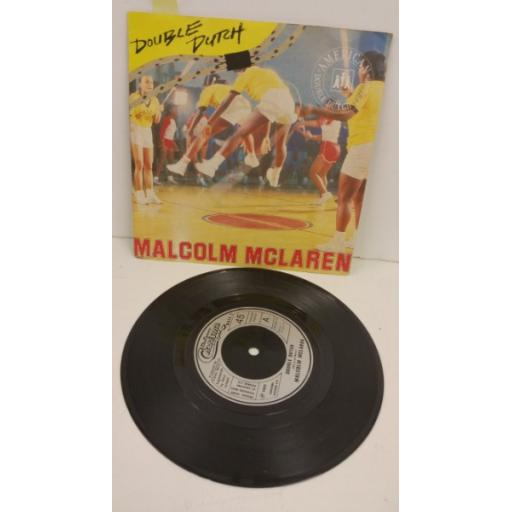MALCOLM MCLAREN double dutch, 7 inch single, MALC 3