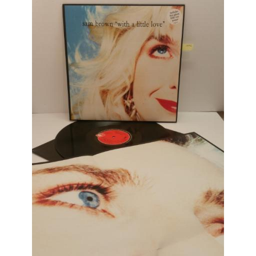 "SAM BROWN ""WITH A LITTLE LOVE"" Amp 539"