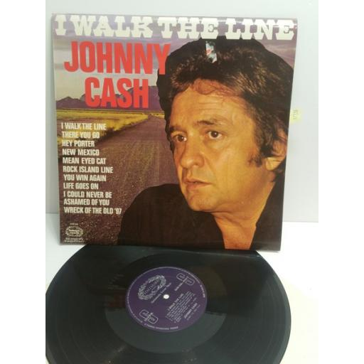JOHNNY CASH I walk the line SHM849