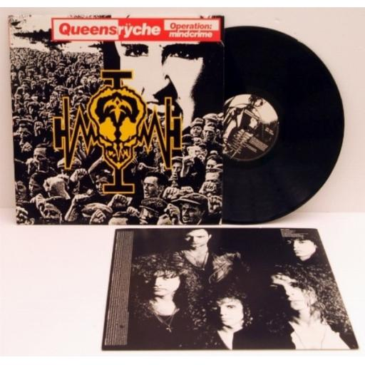 SOLD> QUEENRYCHE, Operation mindcrime.