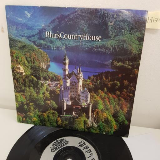 "BLUR, country house, B side one born every minute, FOOD 63, 7"" single"
