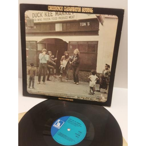 CREEDENCE CLEARWATER REVIVAL, WILLY AND THE POOR BOYS LBS 83338 STEREO