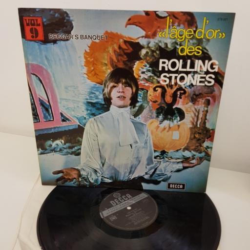 "THE ROLLING STONES, «L'âge D'or» Des Rolling Stones - Vol.9 - Beggars Banquet, 12""LP GATEFOLD, 278.021"