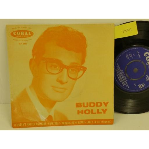 SOLD: BUDDY HOLLY buddy holly, PICTURE SLEEVE, 7 inch single, FEP 2032
