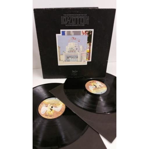 LED ZEPPELIN the soundtrack from the film the song remains the same, gatefold with centre attached booklet, 2 x lp, SS 89 402