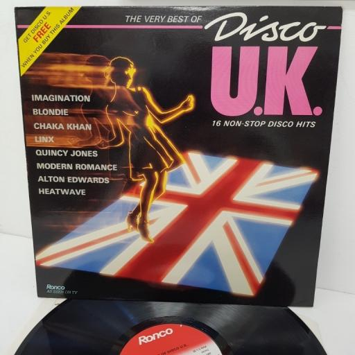 DISCO U.K., RTL 2073, 12 inch LP, compilation