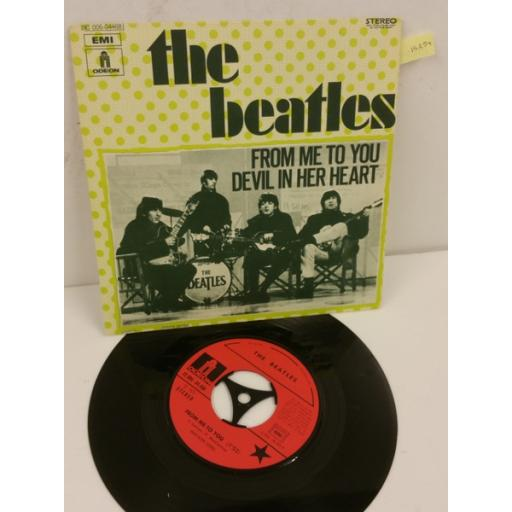 THE BEATLES from me to you, 7 inch single, 2C 006 04468