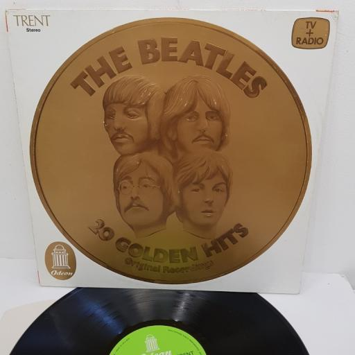"THE BEATLES, 20 golden hits (original recordings), ADEH 40, 12"" LP"