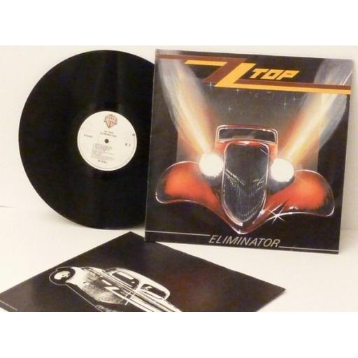 OUT OF STOCK ZZ TOP. ELIMINATOR