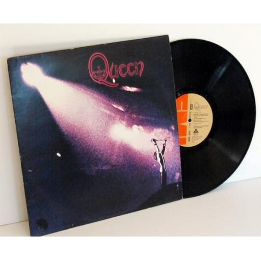 "QUEEN Queen ""BLAIR and BLAIR RULES"" stamper on matrix. First UK pressing 1973..."