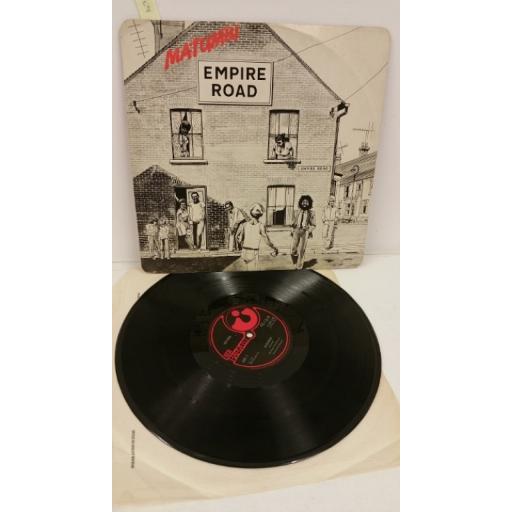 MATUMBI empire road, 12 inch single, HAR 5169