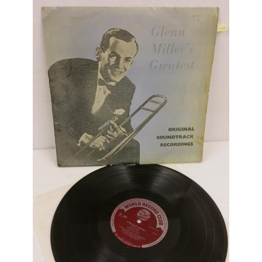 GLENN MILLER AND HIS ORCHESTRA glenn miller's greatest - original soundtrack recordings, TP 223
