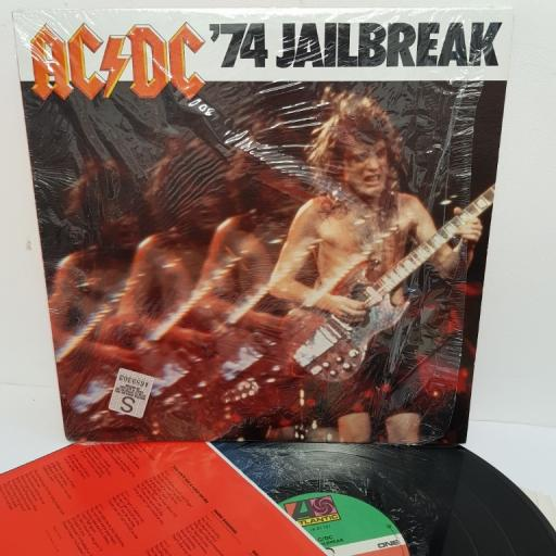 "AC/DC, '74 jailbreak, 78 01781, 12"" LP, compilation"