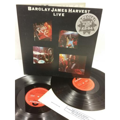 BARCLAY JAMES HARVEST live, gatefold, 2 x lp, 2683 052