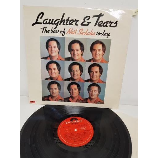 "NEIL SEDAKA, laughter and tears: the best of neil sadaka today, 2383 399, 12"" LP"