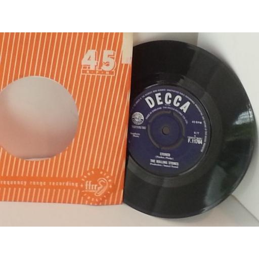 THE ROLLING STONES i wanna be your man, 7 inch single, F11764