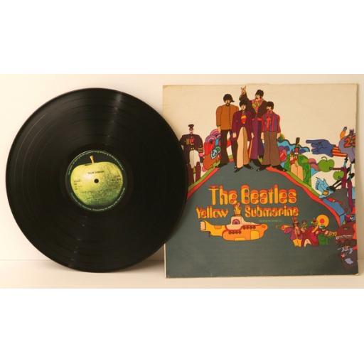 THE BEATLES, Yellow Submarine 1967.UK Re Pressing. Apple [Vinyl] THE BEATLES