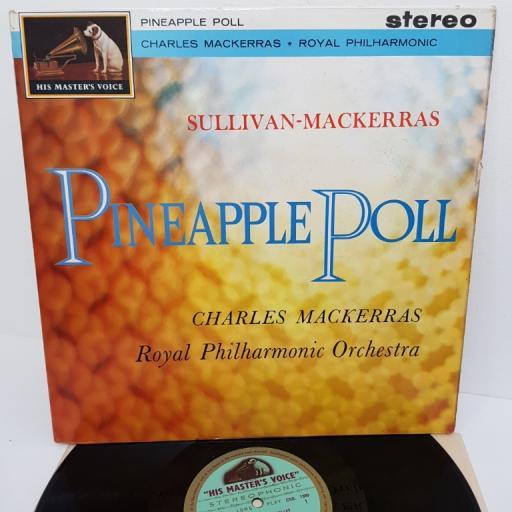 "Sir Arthur Sullivan - Sir Charles Mackerras With Royal Philharmonic Orchestra – Pineapple Poll, CSD 1399, 12"" LP"