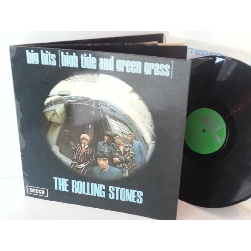 THE ROLLING STONES big hits high tide and green grass, TXS 101, gatefold