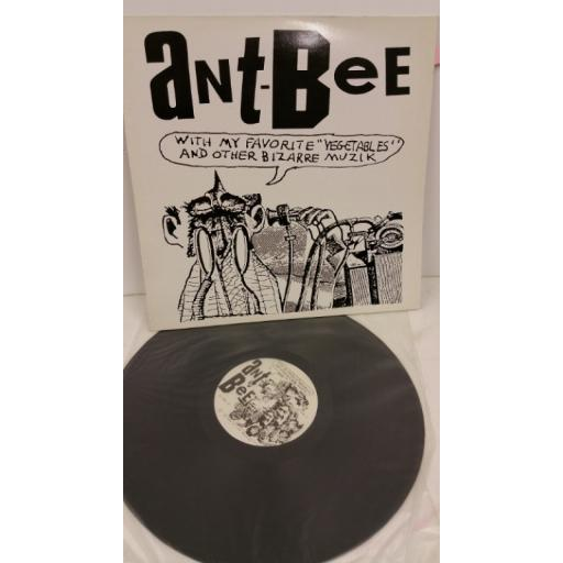 """ANT-BEE ant-bee with my favourite """"vegetables"""" and other bizarre muzik, DIVINE 3"""