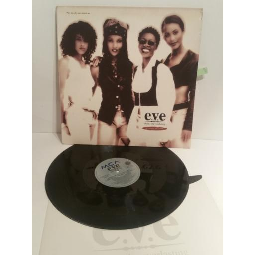 "e.v.e. ebony vibe everlasting GROOVE OF LOVE Part one of a two record set MCST2007 4 TRACK 12"" SINGLE"