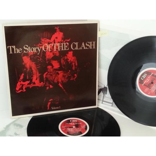 THE CLASH the story of the clash volume 1, double album, 460244 1