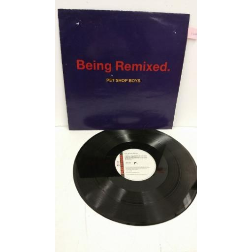 PET SHOP BOYS being remixed, 12 inch single, 12RX 6275