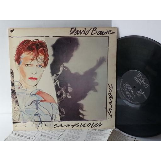 DAVID BOWIE scary monsters, BOW LP 2. SKU 7846