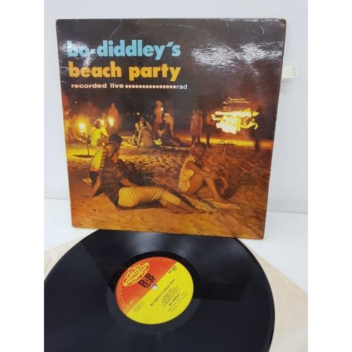 "BO DIDDLEY'S, beach party, recorded live, NPL 28032, 12""LP"