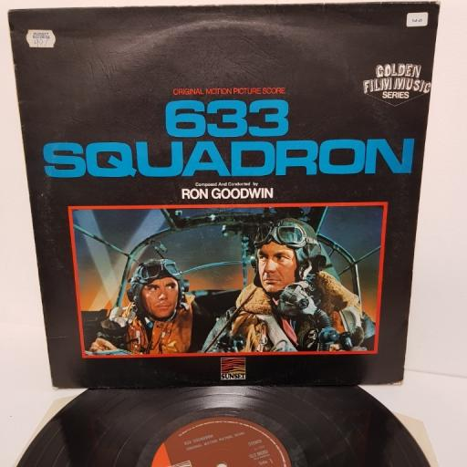 "RON GOODWIN, 633 squadron - original motion picture soundtrack, SLS 50203, 12"" LP"