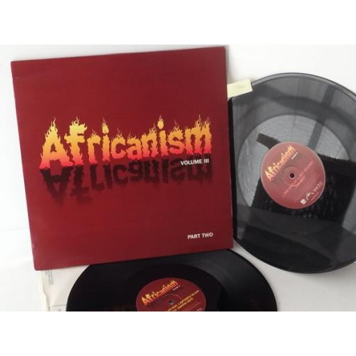 AFRICANISM africanism volume 3 part 2, double album, AFRICA03LP3