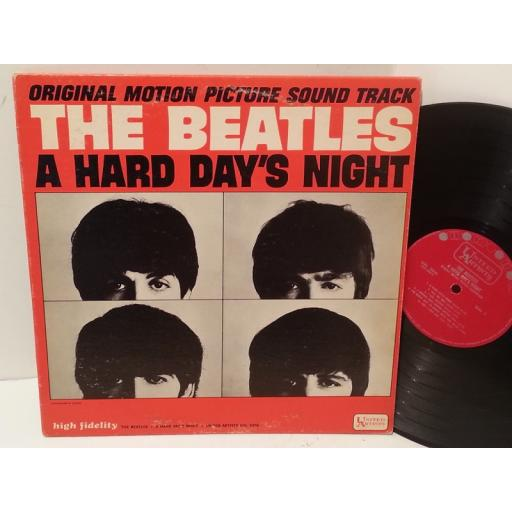 THE BEATLES a hard day's night, UAL 3366