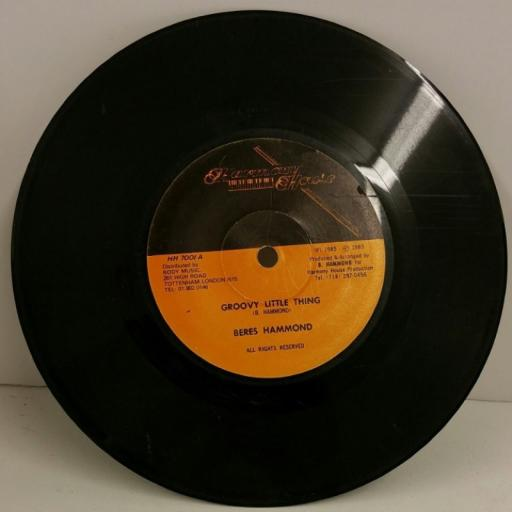 BERES HAMMOND groovy little thing, 7 inch single, HH 7001