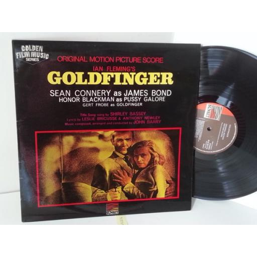 JOHN BARRY James Bond, goldfinger, SLS 50172