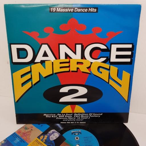 "DANCE ENERGY 2, VTLP4, 12"" LP, compilation"