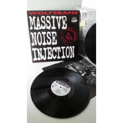 WOLFSBANE massive noise injection, 2 x lp, ESD LP 193, numbered limited edition: 588/3000