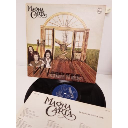 "MAGNA CARTA, prisoners on the line, 9109 229, 12"" LP"