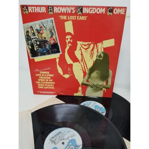 "ARTHUR BROWN'S KINGDOM COME, the lost ears, GUD 2003/4, 2x12"" LP"