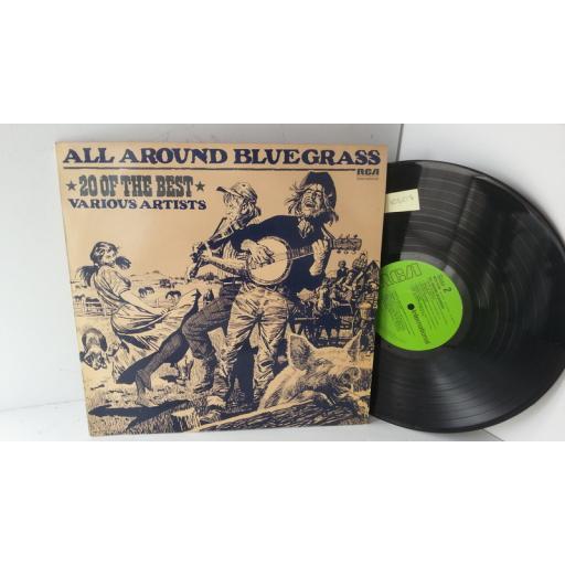 all around bluegrass, 20 of the best DON GIBSON, LESTER FLATT, JOHN HARTFORD, SKEETER DAVIS, INTS 5188