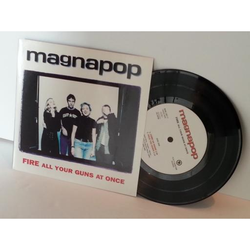 MAGNPOP fire all your guns at once, 7 inch single