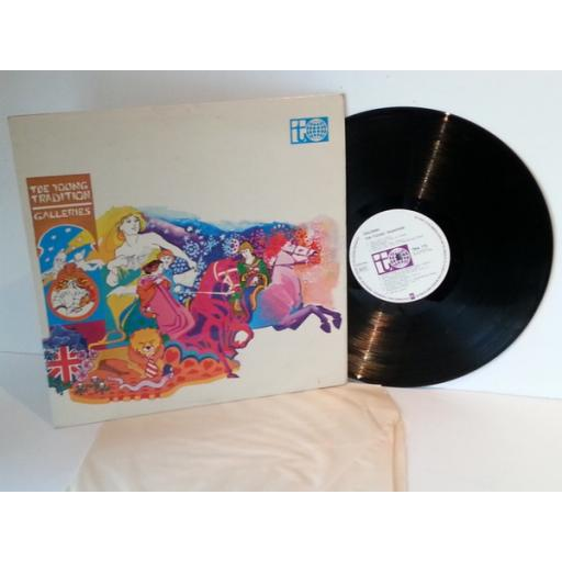 The Young Tradition GALLERIES. First UK pressing on Transatlantic label, 1968 stereo