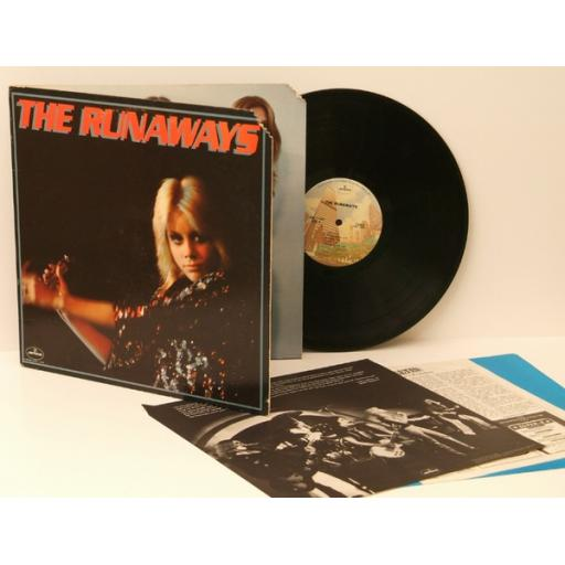 THE RUNAWAYS, the runaways. Very rare. Copy US import. First USA presssing 19...