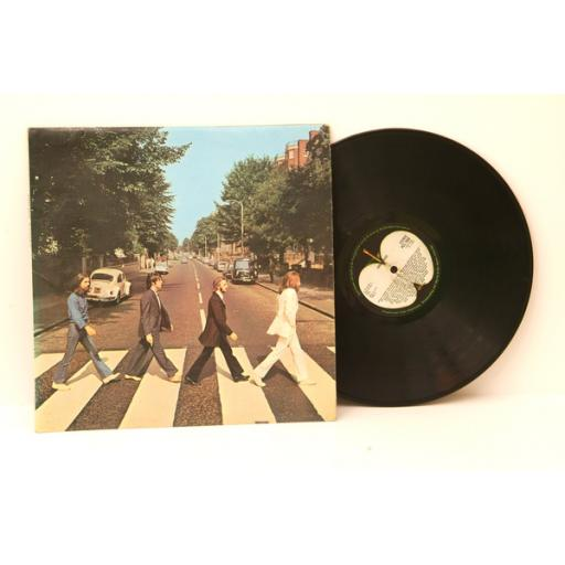 Beatles ABBEY ROAD. MISS ALIGNED APPLE ON REAR SLEEVE